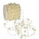 Pearl necklace nylon cord diameter 3mm + 8mm, L
